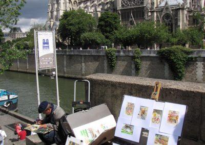 Boemski Pariz ob reki Seni