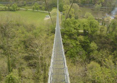 Ponte Sospeco ali viseči most