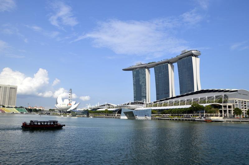 Singapur, Zaliv Bay
