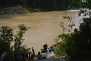 Vožnja po blatni reki.