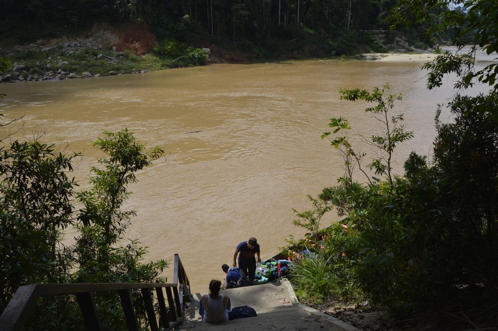 Vožnja po blatni reki