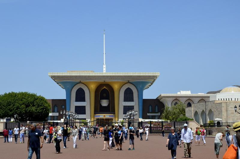 Muscat, Sultanova palača