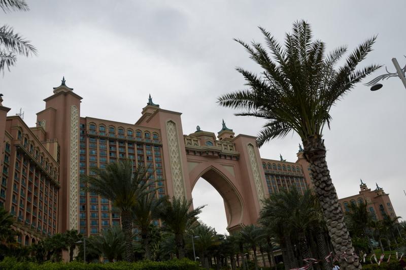 """Hotel Atlantis, Dubaj, """"palma"""""""