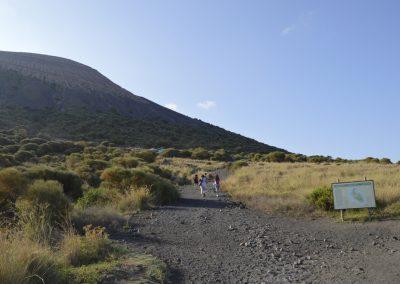 Vulcano, pogled na vulkan
