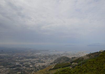 Pogled iz mesta Erice