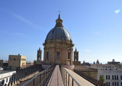 Palermo, na strehi katedrale