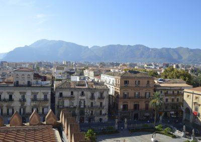 Palermo, pogled iz katedrale