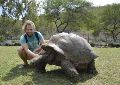 Želv ni nikoli preveč, Casela nature park
