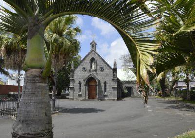 Cerkev v mestu Flaqo