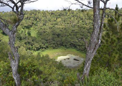 Zapuščeni krater vulkana