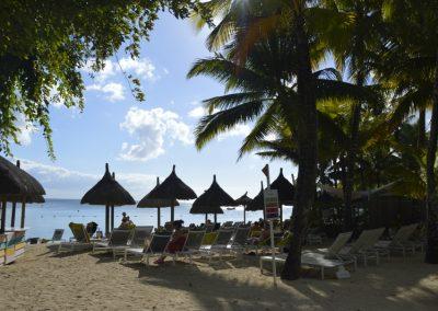Plaža v resortu