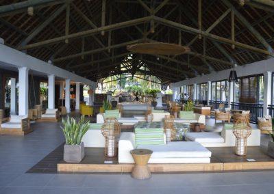 Resort, čudovita recepcija