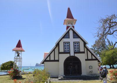Prelepa cerkvica v mestu Cap Malheureux